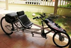 making delta trike from old bikes - Google Search