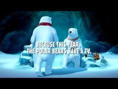 Coca-cola 'It's On' Polar Bear