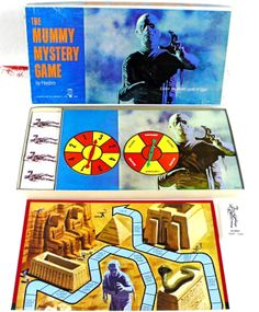 The Mummy Mystery game