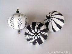 black and white Christmas.