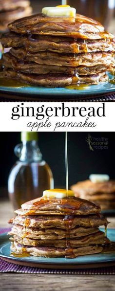 Blog post at Healthy Seasonal Recipes : Whole-grain Gingerbread apple pancakes for the holiday season. Perfect for when you have house guests or any leisurely Saturday or Sunday mo[..]
