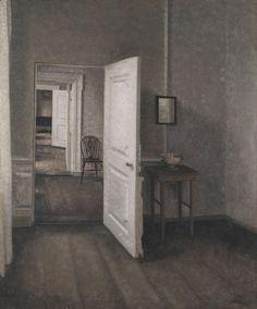 Vilhelm Hammershøi- Die vier Zimmer, 1914.jpg