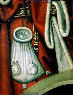 detail from Befreiung der Hl. Barbara aus dem Turm: Kunstwerk: Temperamalerei-Holz ; Einrichtung sakral ; Flügelaltar ; Egkel Hans ; Oberösterreich , Passau  Dokumentation: 1470 ; 1480 ; Melk ; Österreich ; Niederösterreich ; Stiftsmuseum  Anmerkungen: Kat. Krems 1971: S. 160