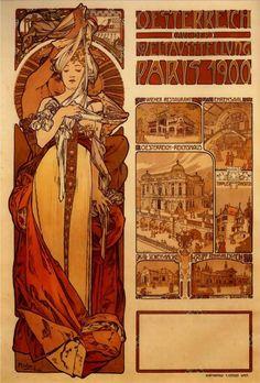 Alphonse Mucha | Austria - 1899.