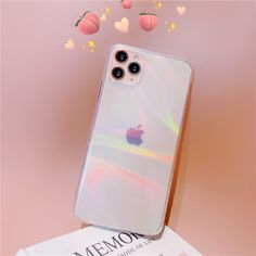 Transparent Laser Rainbow Phone Case For IPhone | Love Me Some Gadgets
