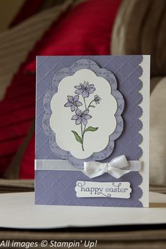 Happy Easter -Simply Soft by LBrinker - Cards and Paper Crafts at Splitcoaststampers