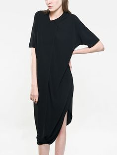 oops I'm an #AssemblyNY girl #sorrynotsorry :: twisted dress black