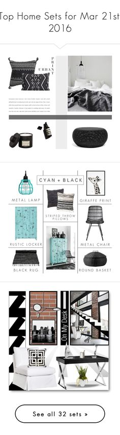 """""""Top Home Sets for Mar 21st, 2016"""" by polyvore ❤ liked on Polyvore featuring interior, interiors, interior design, home, home decor, interior decorating, Garance Doré, House Doctor, Mad et Len and Bloomingville"""