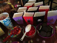 Five Nights At Freddy's Birthday Candy Table for my daughter's birthday party