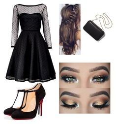 """""""Sans titre #5"""" by hannangels on Polyvore featuring mode, Marc by Marc Jacobs, Christian Louboutin et Clare V."""
