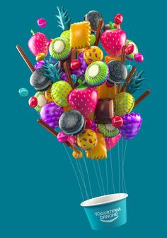 YOGURTERIAS DANONE on Behance
