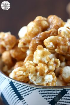 Sweet Heat Caramel Corn Snack Recipe from A Kitchen Addiction