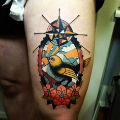 This guy's stuff is incredible! 22 Tattoo, Piercing Tattoo, Piercings, Alex Strangler, Oldschool Tattoos, Tattoo Samples, Swallow Tattoo, Animal Tattoos, All Tattoos