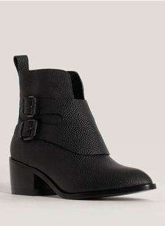 Alexander Wang - Erin leather boots | Black Ankle Boots | Womenswear | Lane Crawford - Shop Designer Brands Online