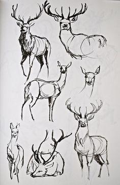 reindeer tattoo - Google Search