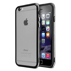 BUMPER DUAL COLOR IPHONE 6 PLUS NEGRO  Precio en Atudisposicion:   3,92€