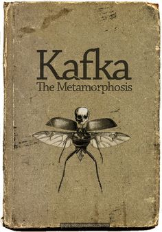 The Metamorphosis: Franz Kafka's novella The Metamorphosis is a rather depressing tale of a young man who turns into a beetle, becomes a burden to his family, and eventually dies of starvation. It was first published in 1915. I found this copy in a second-hand book store in Guelph, Ontario.  It looks like 'Playingwithbrushes' http://www.flickr.com/photos/playingw...038842264/ over on Flickr has cloned out the book cover to make it available for other visual projects.