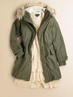 Ralph Lauren - Girl's Utility Coat