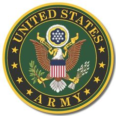 U S Army Symbol Sticker Projects To Try Pinterest