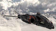 SC AEGS Vanguard Black by Sramio #spaceship – https://www.pinterest.com/pin/206321226659708781/
