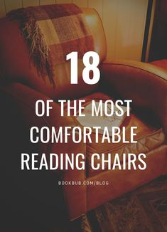 Looking for comfy chairs to use in your reading nook? Here are some ideas. #reading #chair #readingchair