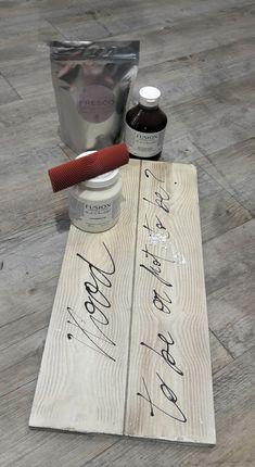 Effetto legno con Fusion Mineral Paint