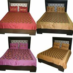 Phulkari Bed Cover