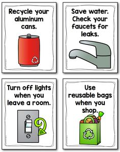 This set of 13 posters is a great teaching tool for Earth Day and empowers students to help take care of the environment.  The posters can also be used as pages to make a class big book for shared reading.  Or post them around your school to create awareness and spark new initiatives.  ($)