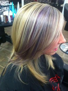 Lavender highlights - love