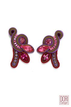 Shop the press : Cerise Clip On Earrings