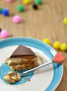 #DimequeesViernes.: Pastel .: BOMBA :. de mousse de chocolate blanco y dulce de leche