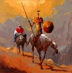 D Quixote 14 - Obra de Romanelli