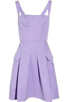 VERSACE  Pleated stretch-cotton dress  Original price $1,995 NOW $698.25 65% off