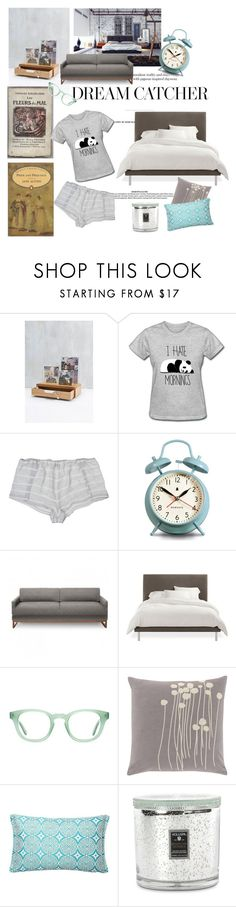 """""""Dream catcher"""" by nathalie-puex ❤ liked on Polyvore featuring interior, interiors, interior design, home, home decor, interior decorating, Baudelaire, Only Hearts, Newgate and Blu Dot"""