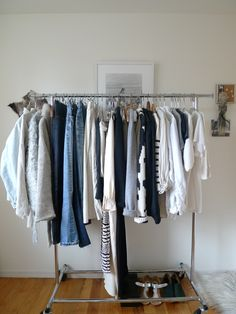 one day my closet will look like this.