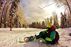 ∞  snowboarding... i miss you already!