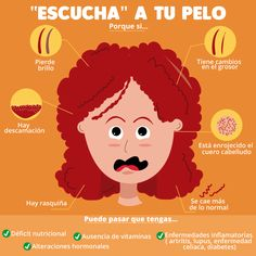 Cuidado del cabello Curly Hair Tips, Curly Hair Styles, Natural Hair Styles, Health And Wellness, Health Tips, Flower Makeup, Free To Use Images, Tips Belleza, Bad Hair