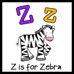 Zz is For Zebra Pack (free; from Me & Marie)