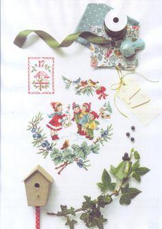 Gallery.ru / Фото #4 - La magie de Noel - À broder au point de croix - irinask
