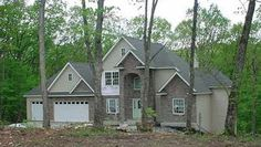 Custom 1 1/2 story home in Troy, MO    By Architectural Elements