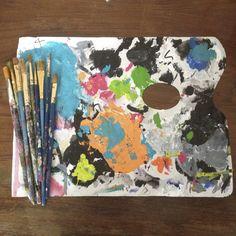 Mis paletas.. Artist: Jocelyn Montero
