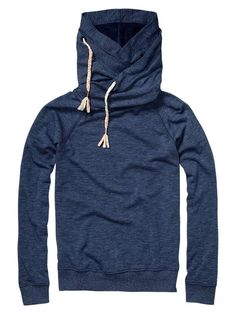 Basic lightweight summer sweat with double hood - Sweaters - Official Scotch & Soda Online Fashion & Apparel Shops