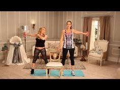 Love this! She gives workouts to target core/abdomen without putting dangerous pressure on baby! Pregnant celebrity trainer gives tips and exercises for a pregnancy work out! Excellent video!