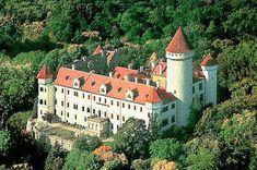 Schloss Konopiště, CZ - Außenansicht