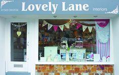 Lovely Lane Interiors shop front