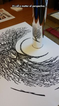 Well... that's freaking awesome! Perspective Art At Its Best www.dartoptical.co.uk