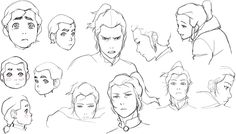 """benditlikekorra: """" """"BK: Noatak and Tarrlok at their different young ages. I was expecting the task of designing young Noatak at all of these ages to be a real challenge, but Il-Kwang and Jin-Sun hit..."""