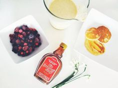 Pancakes with fruit and maple syrup Fruit Pancakes, Maple Syrup, Instagram, Syrup