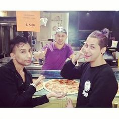 """And when Bianca Del Rio and Adore Delano had a pizza party in Italy. 
