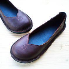 CUSTOM Leather whimsy fairy tale shoes, MOONBEAM by Fairysteps